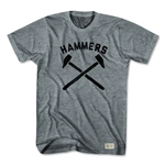 West Ham Hammers T-Shirt (Gray)