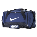 Nike Brasilia 6 Medium Duffle Bag (Navy)