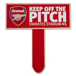 Arsenal Keep Off The Pitch Sign