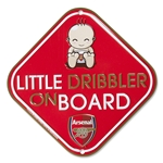 Arsenal Little Dribbler Car Sign