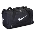 Nike Brasilia 6 Small Duffle Bag (Black)