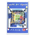 1998 FIFA World Cup France Poster