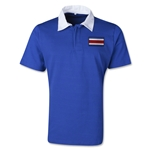 Costa Rica Retro Flag Shirt (Royal)