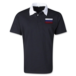 Russia Retro Flag Shirt (Black)