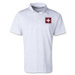 Switzerland Retro Flag Shirt (White)