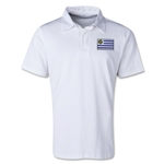 Uruguay Retro Flag Shirt (White)