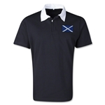 Scotland Retro Flag Shirt (Black)