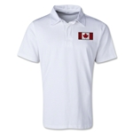 Canada Retro Flag Shirt (White)