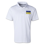Ukraine Retro Flag Shirt (White)