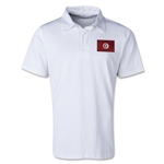 Tunisia Retro Flag Shirt (White)