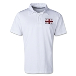 Georgia Retro Flag Shirt (White)