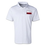 Poland Retro Flag Shirt (White)