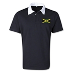Jamaica Retro Flag Shirt (Black)