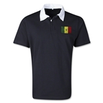 Senegal Retro Flag Shirt (Black)
