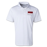 Indonesia Retro Flag Shirt (White)