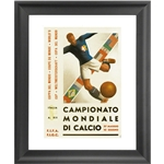 1934 FIFA World Cup Italy Poster Framed Print