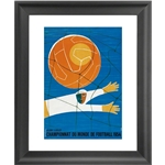 1954 FIFA World Cup Switzerland Poster Framed Print
