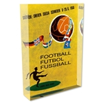 1958 FIFA World Cup Sweden Poster Acrylic Block