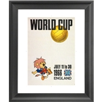 1966 FIFA World Cup England Poster Framed Print