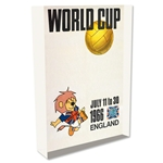 1966 FIFA World Cup England Poster Acrylic Block