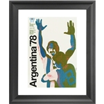 1978 FIFA World Cup Argentina Poster Framed Print