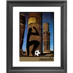 1986 FIFA World Cup Mexico Poster Framed Print
