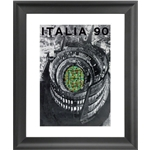 1990 FIFA World Cup Italy Poster Framed Print