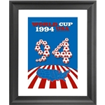 1994 FIFA World Cup USA Commemorative Poster Framed Print