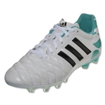 adidas Women's 11Pro TRX FG (Running White/Black/Vivid Mint)