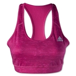 adidas TechFit Bra-Heathered Pattern (Pink)