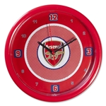Arsenal Bullseye Wall Clock