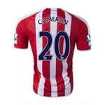 Stoke City 14/15 CAMERON Home Soccer Jersey