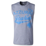 Italia 4 Sleeveless T-Shirt (Gray)