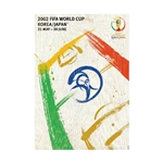 2002 FIFA World Cup Korea/Japan Poster Bamboo Wood Print