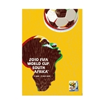 2010 FIFA World Cup South Africa Poster Bamboo Wood Print