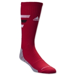 adidas Team Speed Traxion Crew Sock (Red)