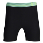 Under Armour HeatGear Alpha 5 Mid Short (Bk/Tl)