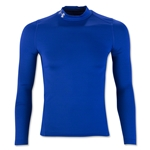 Under Armour Youth ColdGear EVO Fitted Long Sleeve Mock (Royal)