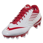 Nike Vapor Speed Lax Cleats (White/University Red)