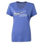 Nike Lax Dri Blend Voop Women's T-Shirt (Blue)