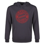 Bayern Munich Halftone Youth Hoody (Dark Gray)