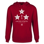 USA Women's World Cup Champions Youth Hoody (Red)