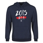 USA Women's World Cup Champions Youth Hoody (Navy)