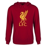 Liverpool Halftone Youth Hoody (Red)