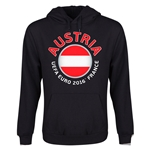 Austria Euro 2016 Fashion Youth Hoody (Black)