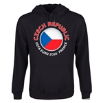 Czech Republic Euro 2016 Fashion Youth Hoody (Black)