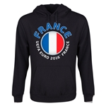 France Euro 2016 Fashion Youth Hoody (Black)