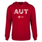 Austria Euro 2016 Elements Youth Hoody (Red)