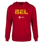 Belgium Euro 2016 Elements Youth Hoody (Red)