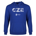 Czech Republic Euro 2016 Elements Youth Hoody (Royal)